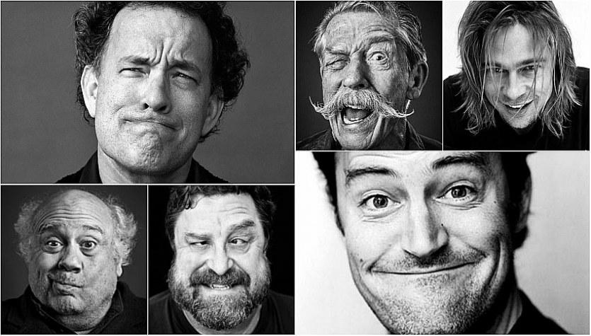 Andy Gotts'dan Birbirinden Komik Ünlü Fotoğrafları