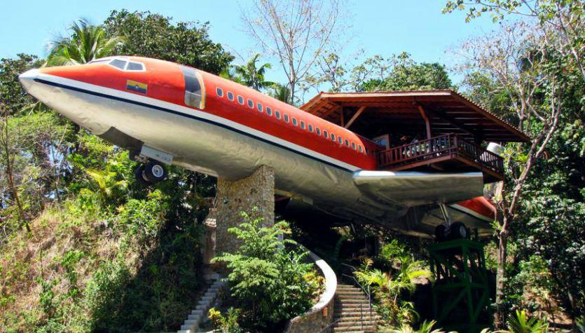 Uçak Ev: Costa Verde Oteli, 727 Fuselage Home