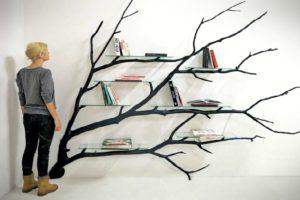 Tasarım Harikası Ilginç Kitaplık ve Raflar