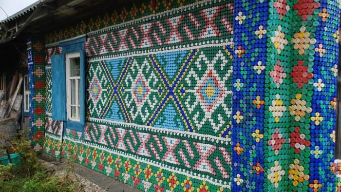 plastik sise kapaklari ile yapilan mozaik tablolar (17)