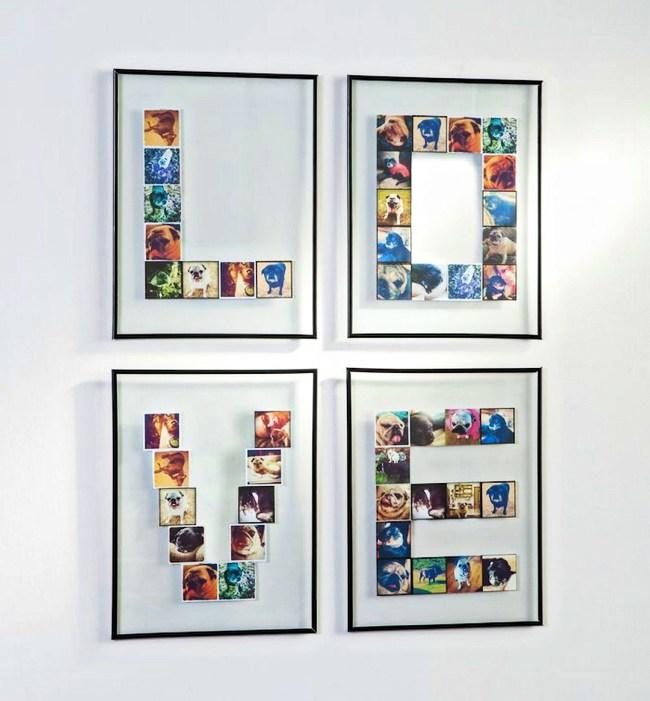 fotoğraf sergileme şekil ve harfler
