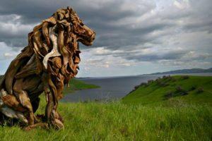 Jeffro Uitto'dan Muhteşem Driftwood Sanatı