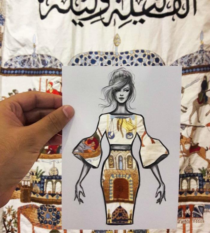 Shamekh Bluwi çizimleri