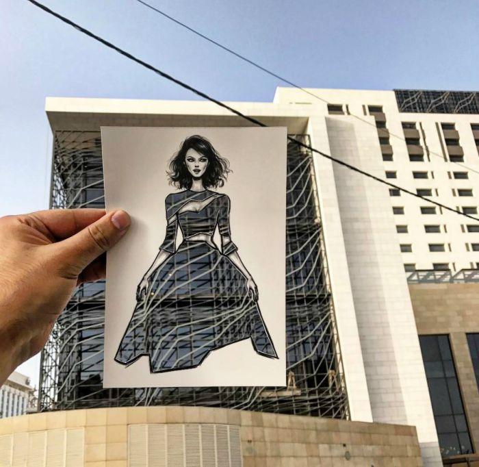 Shamekh Bluwi Moda İllüstrastonları