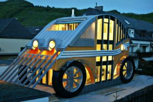Araba Ev: VW Beetle'dan İlham Alan Kompakt Tasarım