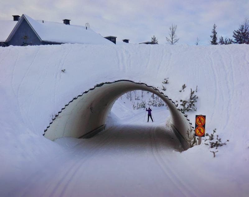 levi kayak merkezi finlandiya