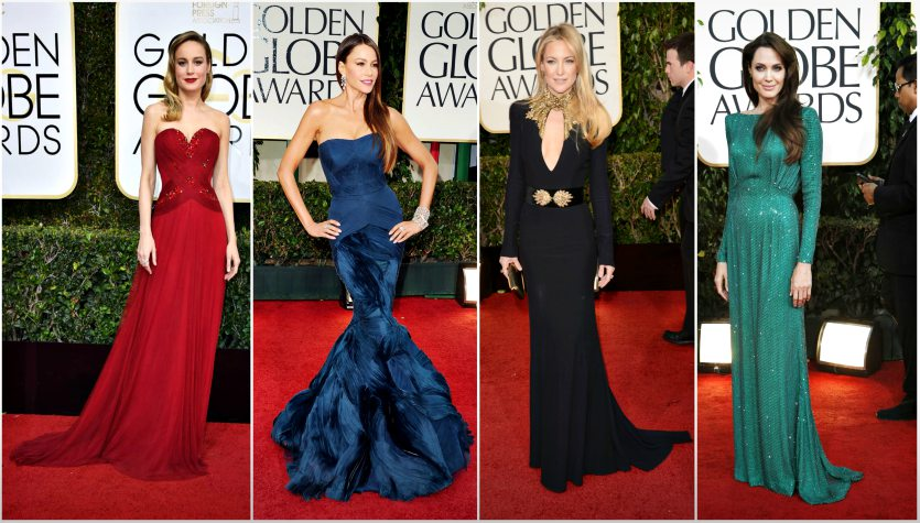 Altın Küre Kırmızı Halının En Şık Elbiseleri