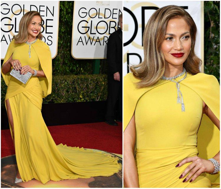 altın küre en şık elbiseler
