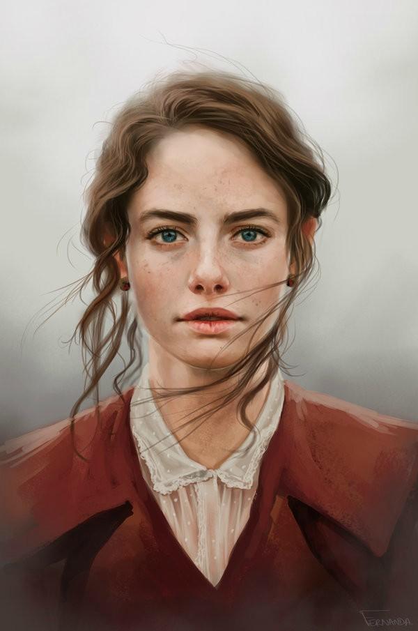 dijital sanat dijital portre