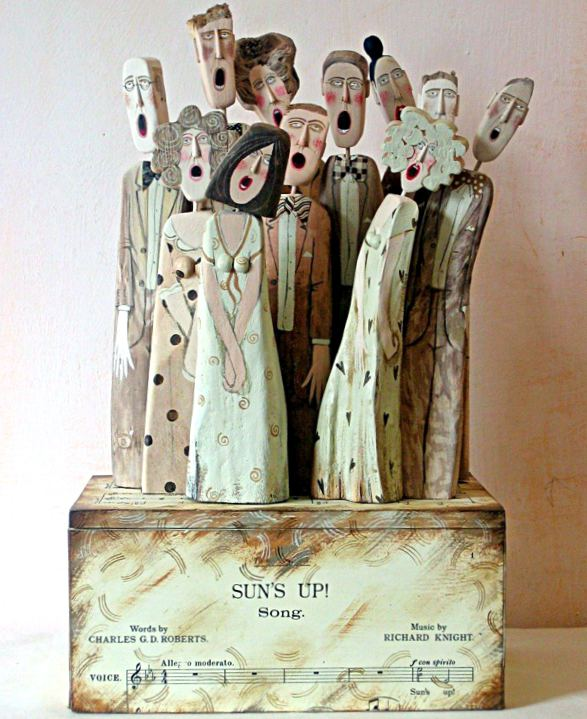 lynn muir driftwood heykel