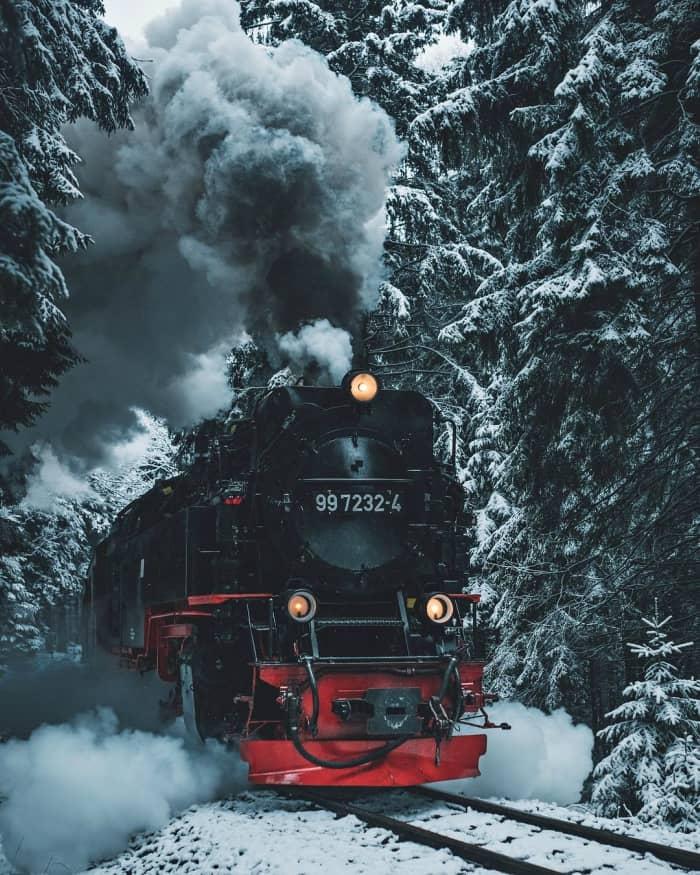 Karın Hipnotik Etkisiyle Birbirinden Güzel Kış Fotoğrafları Gizushka