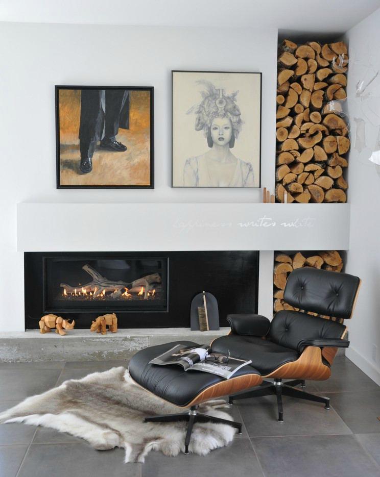 Ünlü aydınlatma ve mobilya tasarımları Charles Ve Ray Eames Lounge Chair