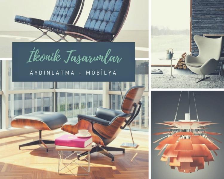 Ünlü aydınlatma ve mobilya tasarımları
